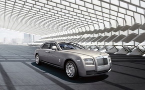 Grey Rolls Royce Ghost wallpaper