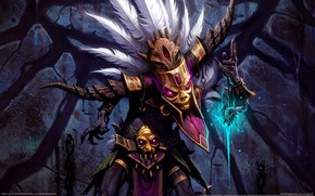 Witch Doctor Diablo 3 wallpaper