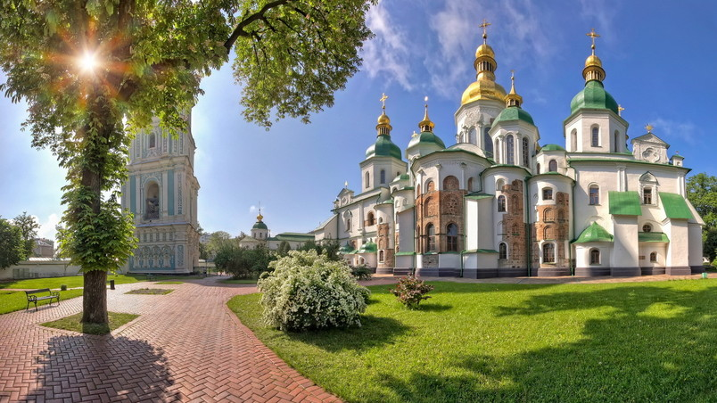 Saint Sophia Cathedral Kiev wallpaper