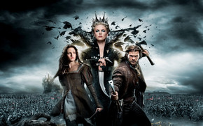 Lovely Snow White and The Huntsman wallpaper