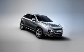 2012 Peugeot 4008 Grey wallpaper