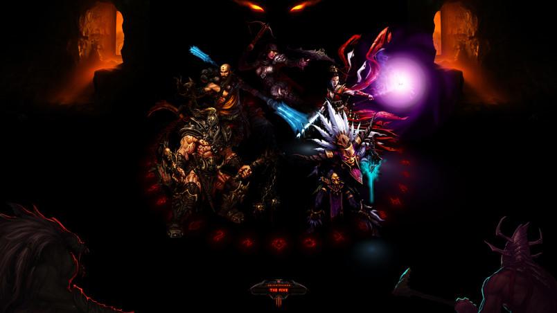 The Five Diablo 3 Hd Wallpaper Wallpaperfx