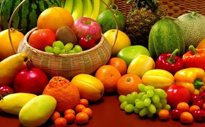 Fruits and Veggies wallpaper