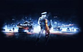 Battlefield 3 Girl wallpaper
