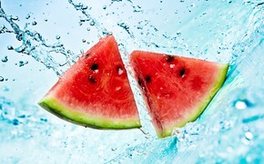 Watermelon Slices wallpaper