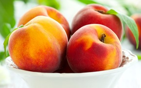 Peaches Fruit wallpaper