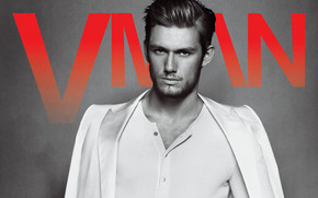 Handsome Alex Pettyfer wallpaper
