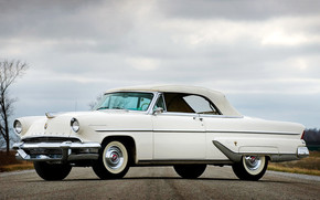 Lincoln Capri Convertible 1955 wallpaper