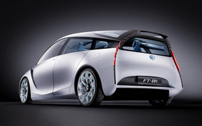 Rear of Toyota FT Bh Concept wallpaper