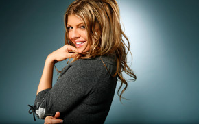 Fergie Happy wallpaper