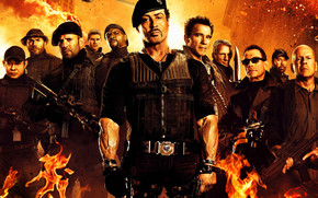 The Expendables 2 Film wallpaper