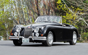 Roadster Jaguar XK 150 wallpaper