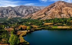 Ovan Lake Iran wallpaper