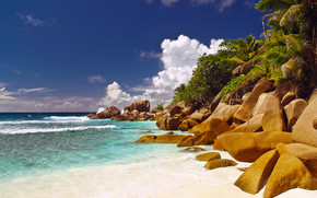 Seychelles Islands Corner