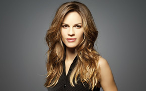 Gorgeous Hilary Swank wallpaper