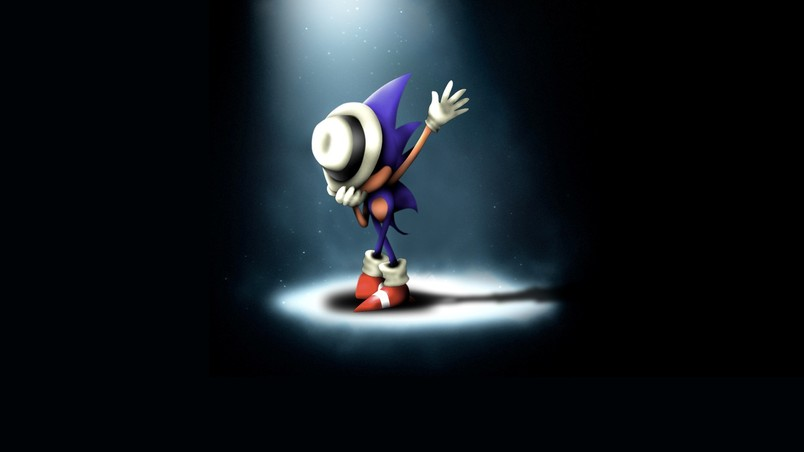 Sonic Hedgehog Michael Jackson wallpaper