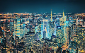 Superb View Over New York wallpaper