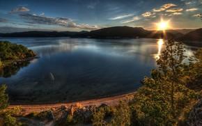 Stunning Lake Sunset