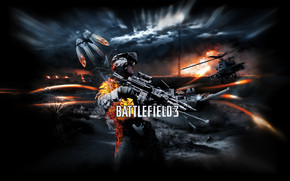 Battlefield 3 Poster wallpaper