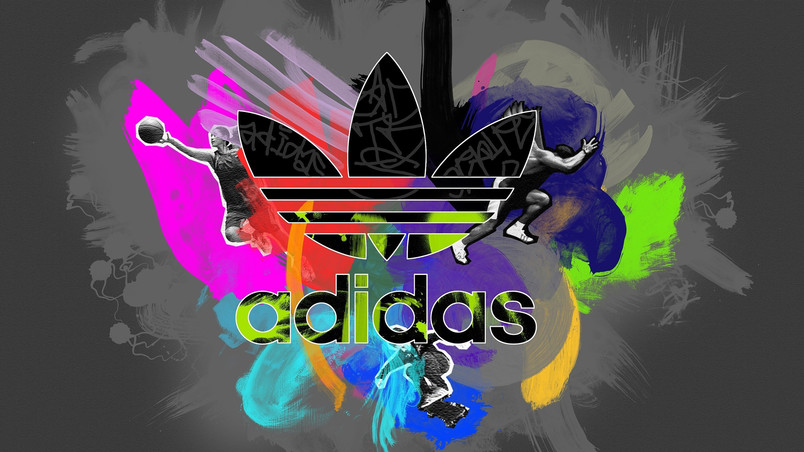 adidas logo 3d wallpaper
