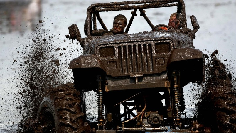 Jeep Wrangler 4x4 Off Road Competition wallpaper