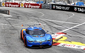 Renault Alpine on Track wallpaper