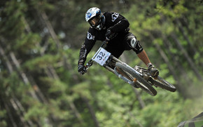 Mountain Bike Racer wallpaper
