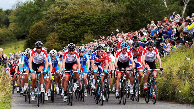 Surrey Cycle Classic wallpaper