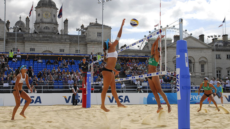 Visa FIVB Beach Volleyball International wallpaper