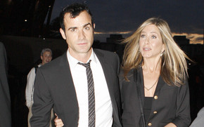 Jennifer Aniston and Justin Theroux wallpaper