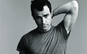Justin Theroux Young Look wallpaper