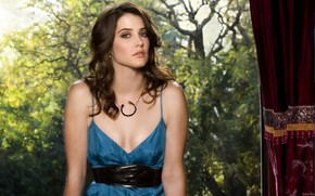 Cobie Smulders Look wallpaper