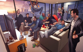 GTA Characters wallpaper
