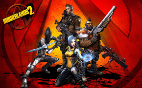 Borderlands 2 Characters wallpaper