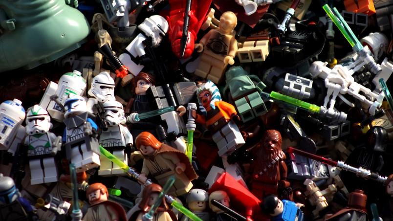 Star Wars Lego Characters Hd Wallpaper Wallpaperfx