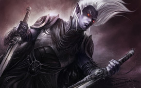 Dark Elves Warhammer wallpaper