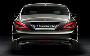 2012 Mercedes Benz CLS Rear wallpaper
