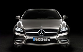 2012 Mercedes Benz CLS Front wallpaper