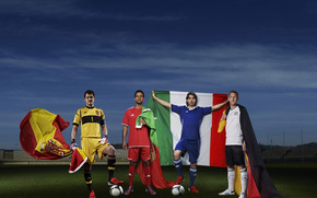 Spain Portugal Italy and Germany wallpaper