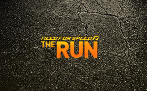 NFS The Run Logo wallpaper