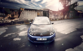 VW Golf 6 by BBM wallpaper