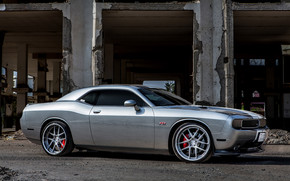 Grey ADV Dodge Challenger wallpaper