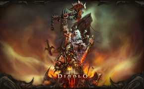Barbarian Victory Diablo 3 wallpaper