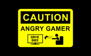 Angry Gamer wallpaper