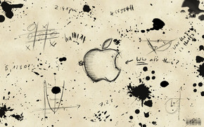 Apple Sketch wallpaper