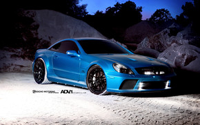 ADV Wheels Mercedes SL65 AMG wallpaper