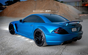 SL65 AMG by ADV Wheels wallpaper