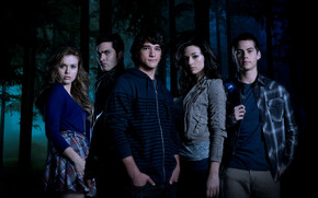Teen Wolf Cast wallpaper