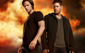 Supernatural Dean & Sam wallpaper