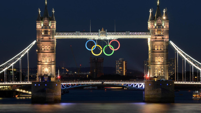 London Bridge 2012 Olympics wallpaper